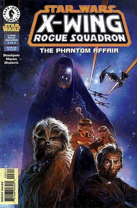 Cover of Star Wars: X-W Squadron-Phantom Affair #3. One of 250,000 Vintage American Comics on sale from Krypton!
