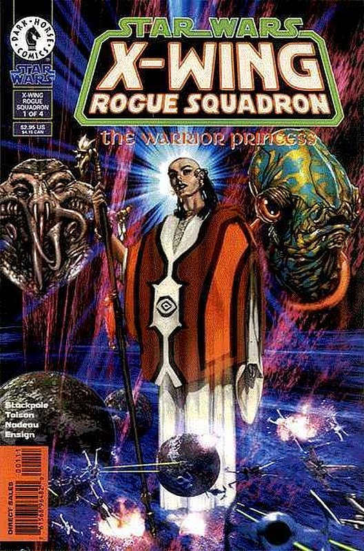 Cover of Star Wars: X-W Squadron-Warrior Princess #1. One of 250,000 Vintage American Comics on sale from Krypton!