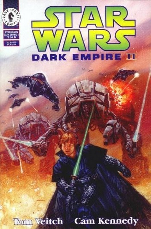Cover of Star Wars: Dark Empire II (1994 Ltd) #1. One of 250,000 Vintage American Comics on sale from Krypton!