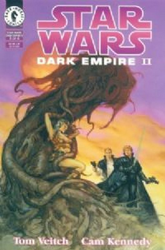 Cover of Star Wars: Dark Empire II (1994 Ltd) #3. One of 250,000 Vintage American Comics on sale from Krypton!