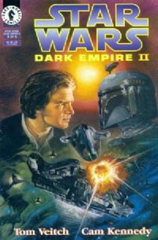 Cover of Star Wars: Dark Empire II (1994 Ltd) #4. One of 250,000 Vintage American Comics on sale from Krypton!