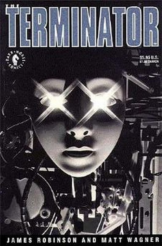 Cover of Terminator (1991 One Shot) The #1. One of 250,000 Vintage American Comics on sale from Krypton!