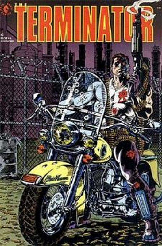 Cover of Terminator (1990 Ltd) #2. One of 250,000 Vintage American Comics on sale from Krypton!