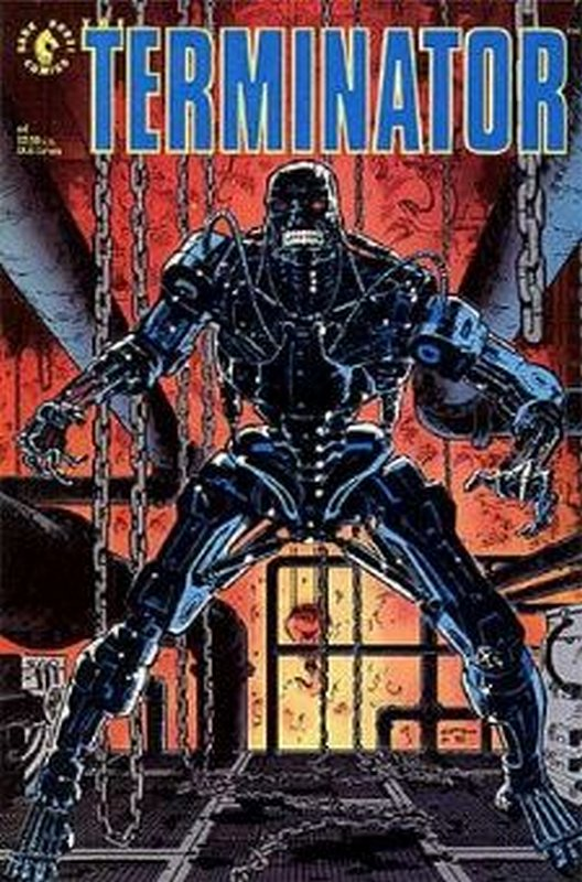 Cover of Terminator (1990 Ltd) #4. One of 250,000 Vintage American Comics on sale from Krypton!