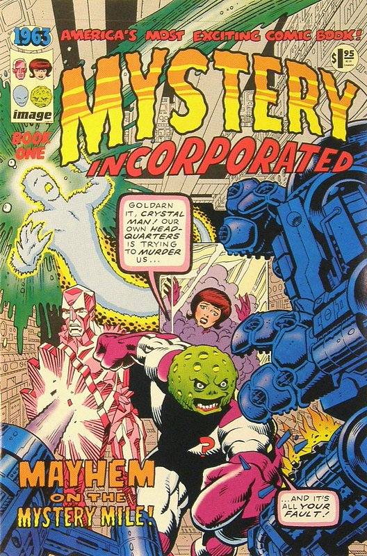 Cover of 1963 (1993 Ltd) #1. One of 250,000 Vintage American Comics on sale from Krypton!
