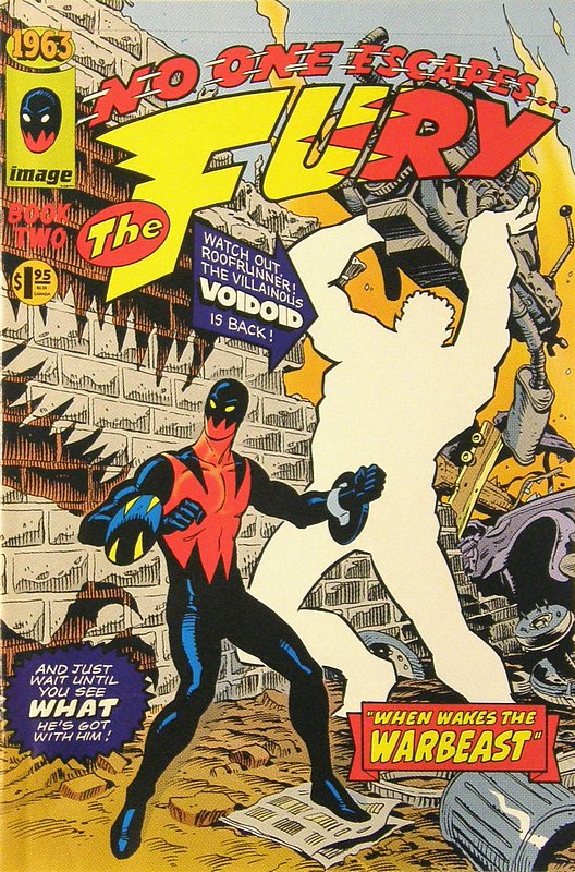 Cover of 1963 (1993 Ltd) #2. One of 250,000 Vintage American Comics on sale from Krypton!
