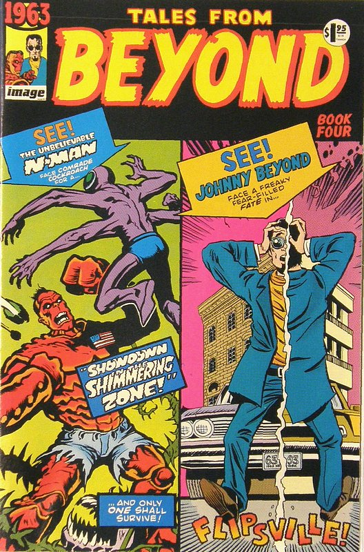 Cover of 1963 (1993 Ltd) #4. One of 250,000 Vintage American Comics on sale from Krypton!