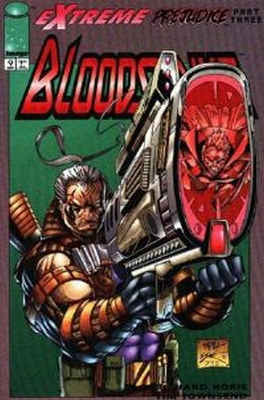 Cover of Bloodstrike (Vol 1) #9. One of 250,000 Vintage American Comics on sale from Krypton!