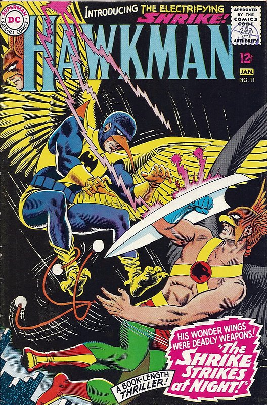 Cover of Hawkman (Vol 1) #11. One of 250,000 Vintage American Comics on sale from Krypton!