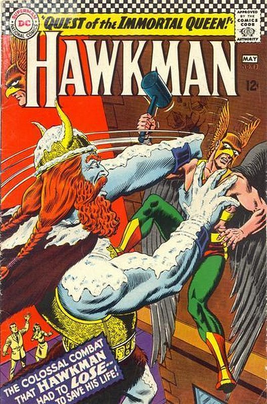 Cover of Hawkman (Vol 1) #13. One of 250,000 Vintage American Comics on sale from Krypton!