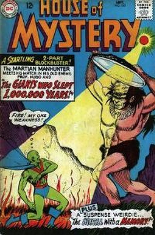 Cover of House of Mystery (Vol 1) #153. One of 250,000 Vintage American Comics on sale from Krypton!