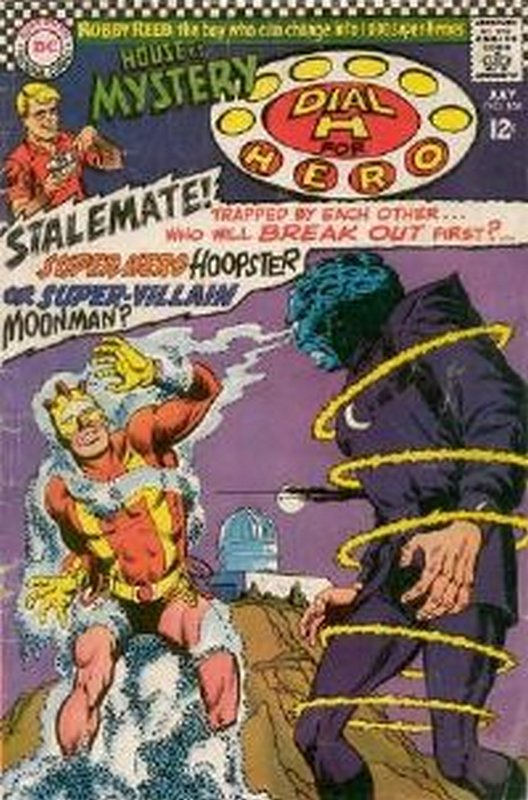 Cover of House of Mystery (Vol 1) #168. One of 250,000 Vintage American Comics on sale from Krypton!