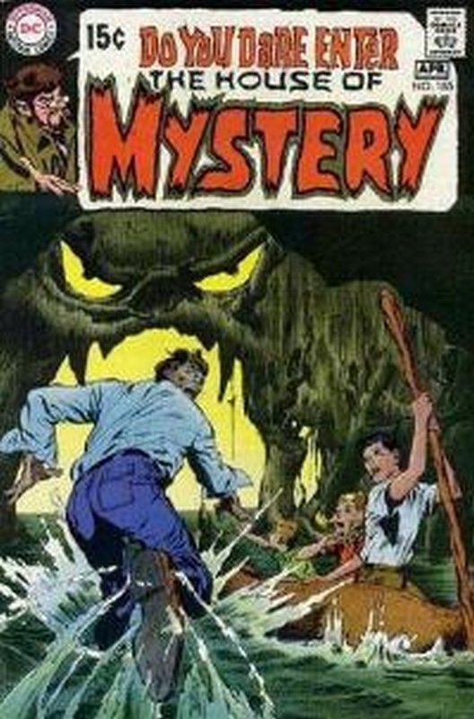 Cover of House of Mystery (Vol 1) #185. One of 250,000 Vintage American Comics on sale from Krypton!