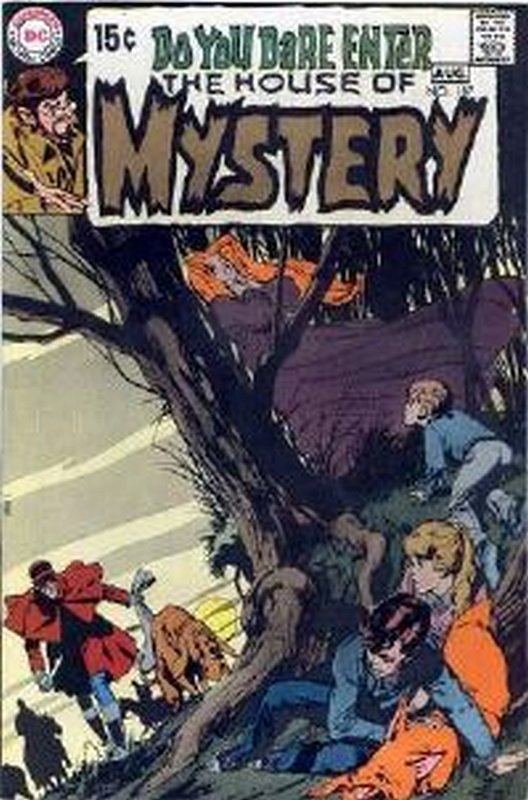 Cover of House of Mystery (Vol 1) #187. One of 250,000 Vintage American Comics on sale from Krypton!