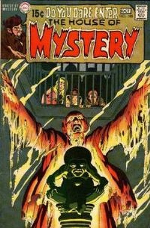 Cover of House of Mystery (Vol 1) #188. One of 250,000 Vintage American Comics on sale from Krypton!