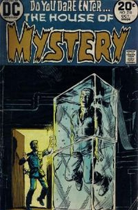 Cover of House of Mystery (Vol 1) #218. One of 250,000 Vintage American Comics on sale from Krypton!