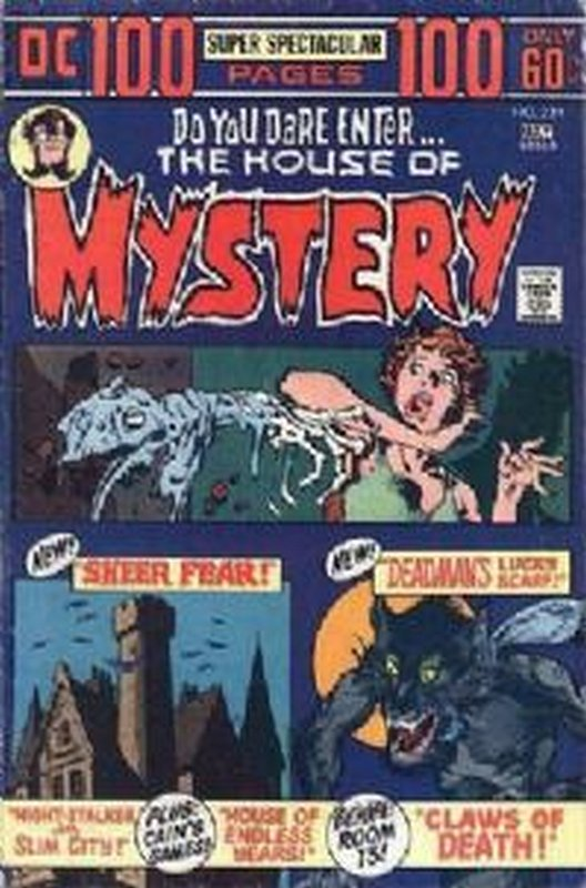 Cover of House of Mystery (Vol 1) #224. One of 250,000 Vintage American Comics on sale from Krypton!