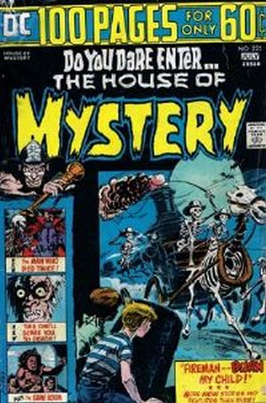 Cover of House of Mystery (Vol 1) #225. One of 250,000 Vintage American Comics on sale from Krypton!