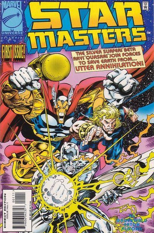 Cover of Star Masters (1995 Ltd) #1. One of 250,000 Vintage American Comics on sale from Krypton!