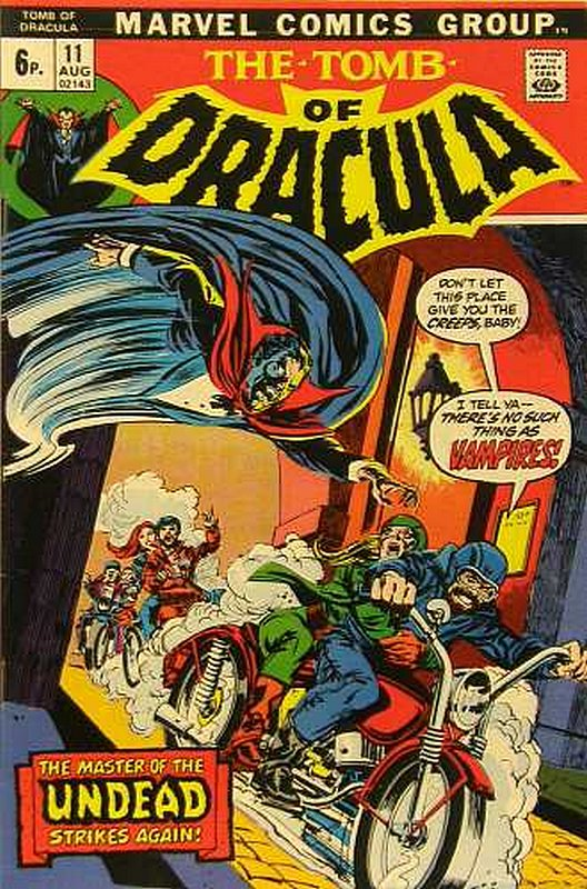 Cover of Tomb of Dracula (Vol 1) #11. One of 250,000 Vintage American Comics on sale from Krypton!