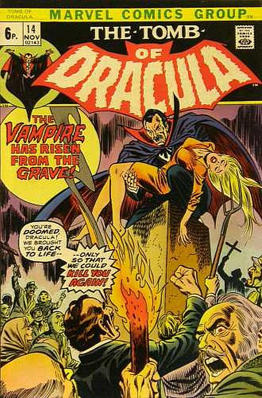 Cover of Tomb of Dracula (Vol 1) #14. One of 250,000 Vintage American Comics on sale from Krypton!