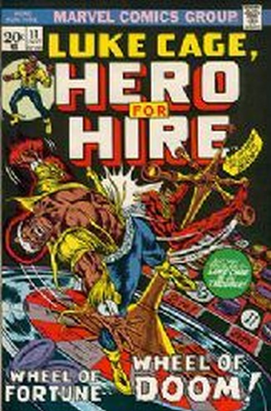 Cover of Hero For Hire (Vol 1) Luke Cage #11. One of 250,000 Vintage American Comics on sale from Krypton!