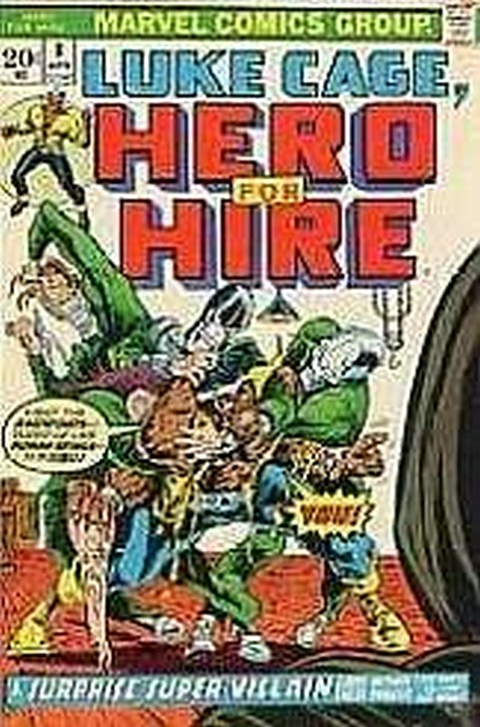 Cover of Hero For Hire (Vol 1) Luke Cage #8. One of 250,000 Vintage American Comics on sale from Krypton!