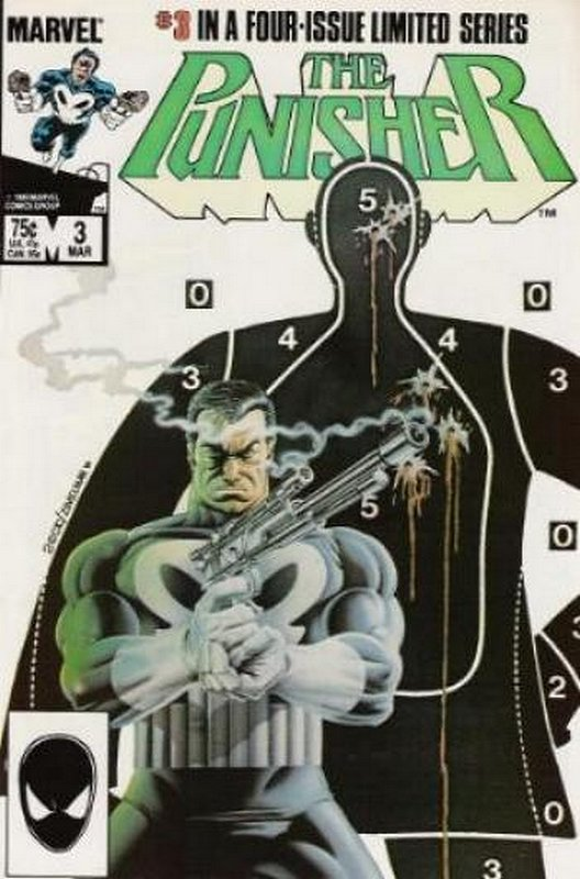 Cover of Punisher (1986 Ltd) #3. One of 250,000 Vintage American Comics on sale from Krypton!