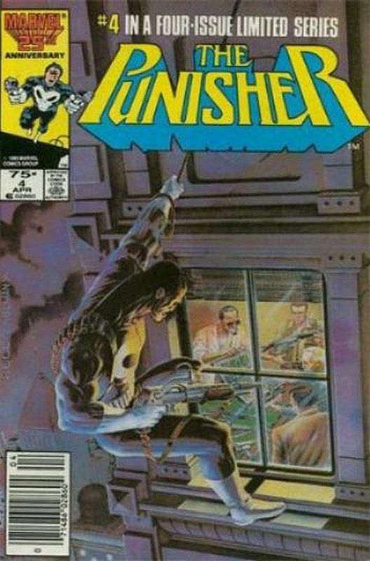 Cover of Punisher (1986 Ltd) #4. One of 250,000 Vintage American Comics on sale from Krypton!