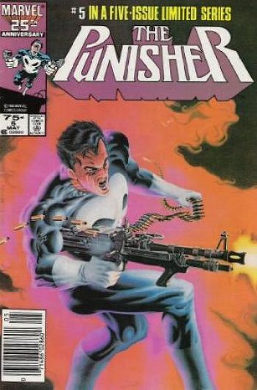 Cover of Punisher (1986 Ltd) #5. One of 250,000 Vintage American Comics on sale from Krypton!