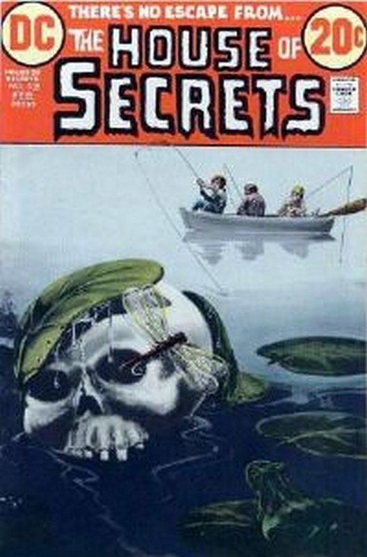 Cover of House of Secrets (Vol 1) #105. One of 250,000 Vintage American Comics on sale from Krypton!