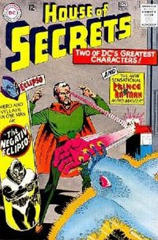 Cover of House of Secrets (Vol 1) #74. One of 250,000 Vintage American Comics on sale from Krypton!