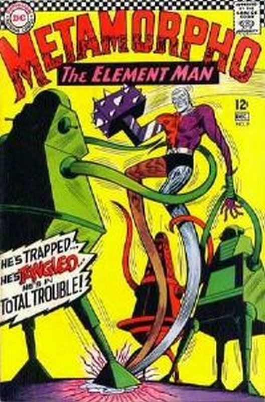 Cover of Metamorpho (Vol 1) #9. One of 250,000 Vintage American Comics on sale from Krypton!