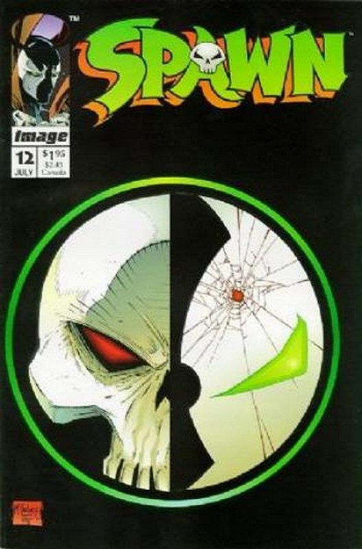 Cover of Spawn #12. One of 250,000 Vintage American Comics on sale from Krypton!