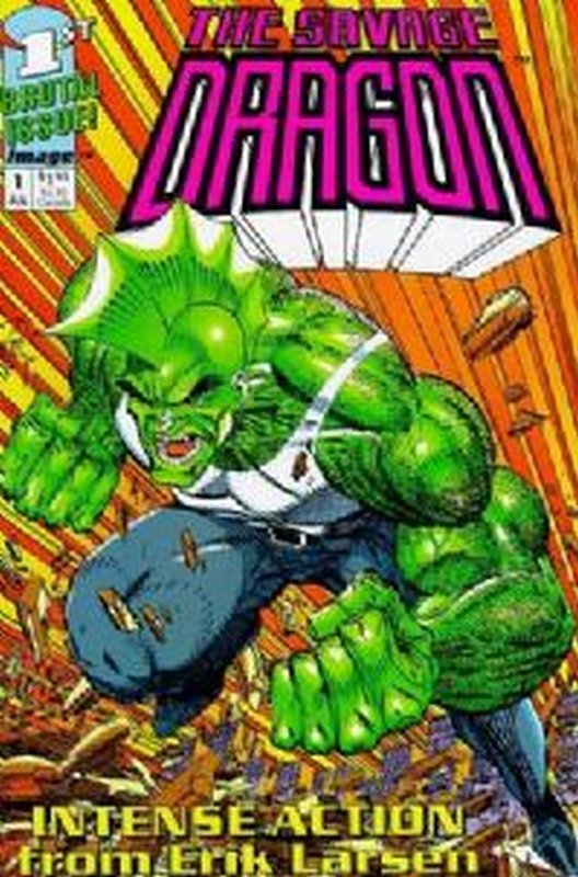 Cover of Savage Dragon (1992 Ltd) #1. One of 250,000 Vintage American Comics on sale from Krypton!