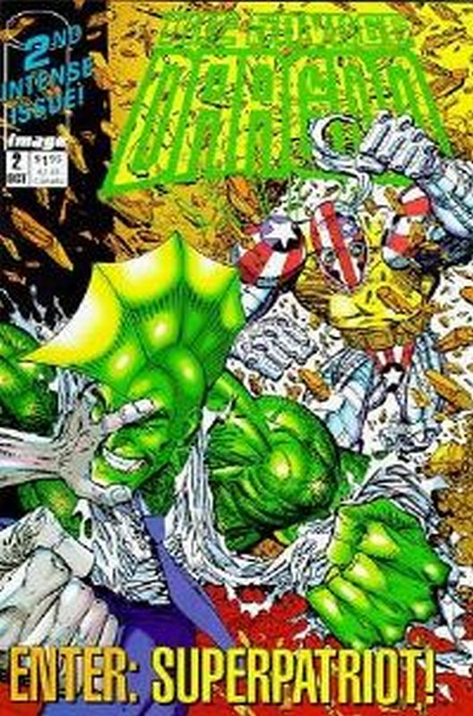 Cover of Savage Dragon (1992 Ltd) #2. One of 250,000 Vintage American Comics on sale from Krypton!