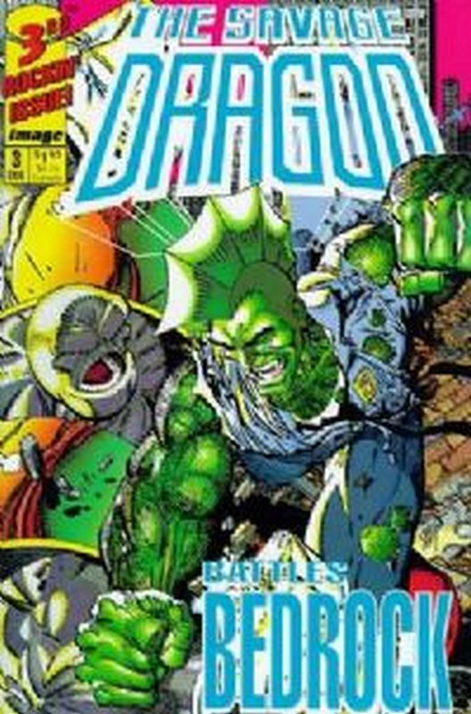 Cover of Savage Dragon (1992 Ltd) #3. One of 250,000 Vintage American Comics on sale from Krypton!