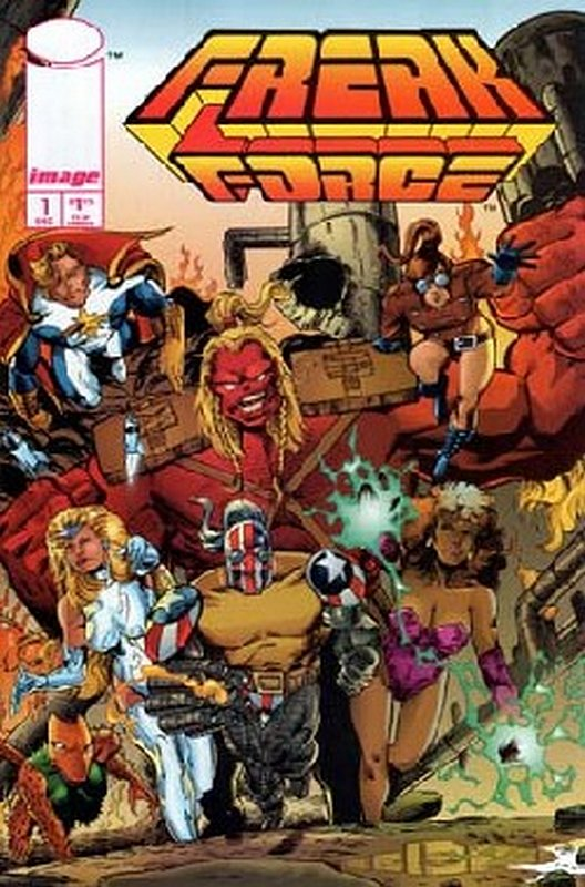 Cover of Freak Force (Vol 1) #1. One of 250,000 Vintage American Comics on sale from Krypton!