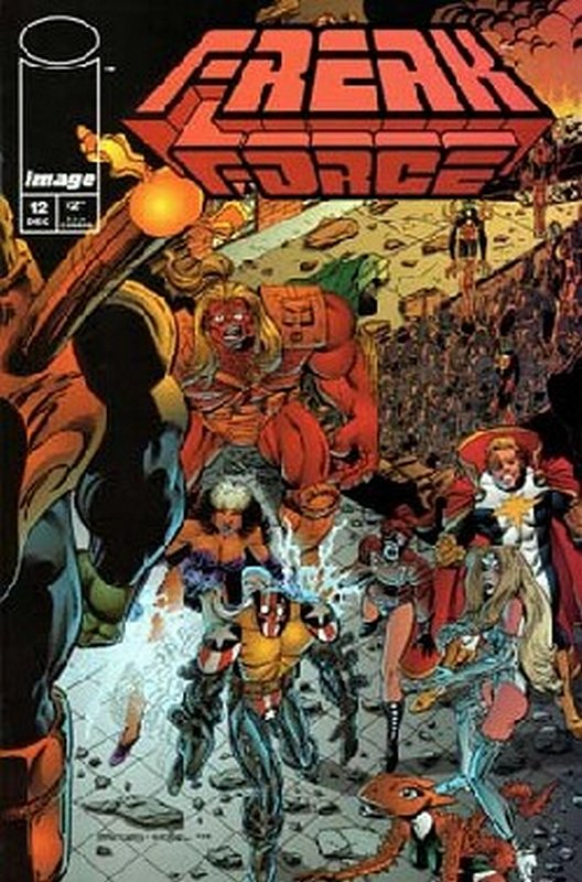 Cover of Freak Force (Vol 1) #12. One of 250,000 Vintage American Comics on sale from Krypton!