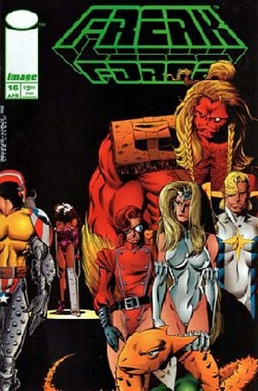 Cover of Freak Force (Vol 1) #16. One of 250,000 Vintage American Comics on sale from Krypton!