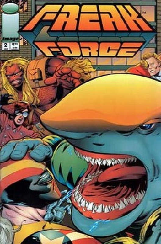Cover of Freak Force (Vol 1) #2. One of 250,000 Vintage American Comics on sale from Krypton!