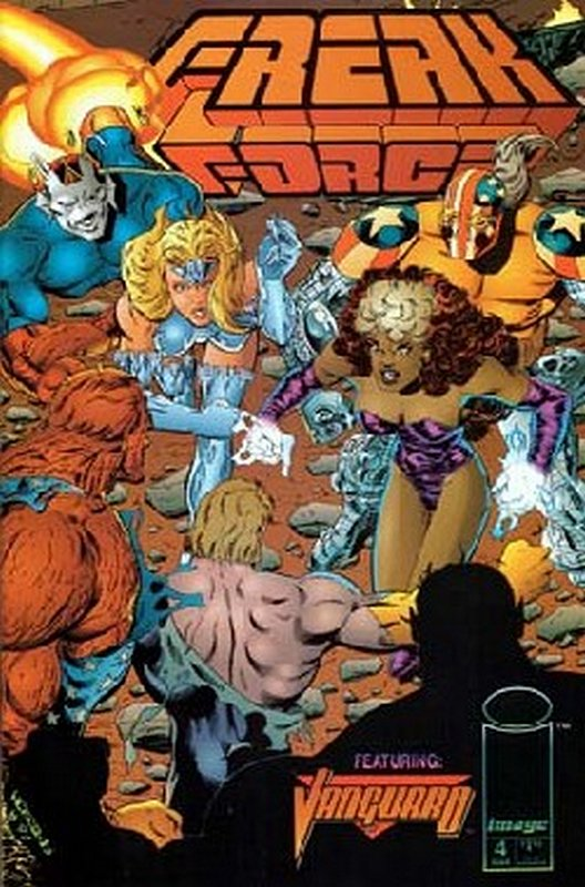Cover of Freak Force (Vol 1) #4. One of 250,000 Vintage American Comics on sale from Krypton!
