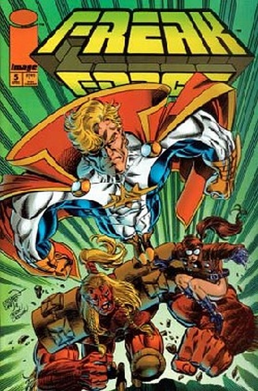 Cover of Freak Force (Vol 1) #5. One of 250,000 Vintage American Comics on sale from Krypton!