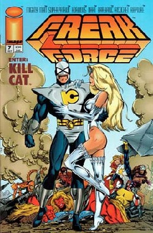 Cover of Freak Force (Vol 1) #7. One of 250,000 Vintage American Comics on sale from Krypton!