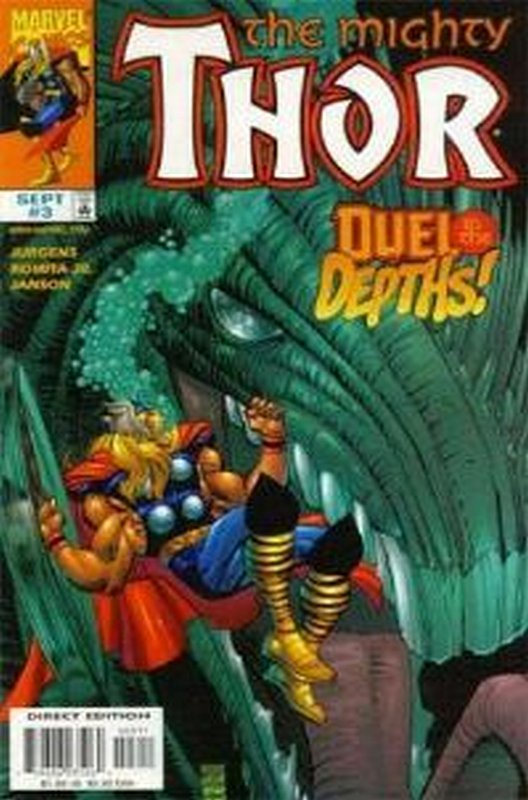 Cover of Thor (Vol 2) #3. One of 250,000 Vintage American Comics on sale from Krypton!