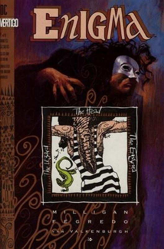 Cover of Enigma (1993 Ltd) #1. One of 250,000 Vintage American Comics on sale from Krypton!