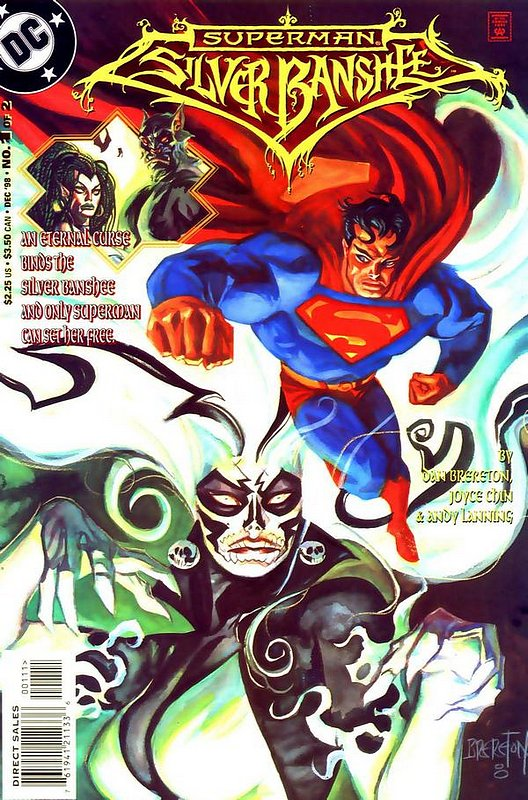 Cover of Superman Silver Banshee (1998 Ltd) #1. One of 250,000 Vintage American Comics on sale from Krypton!