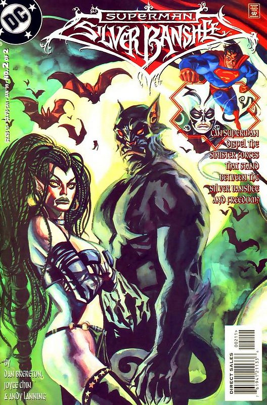 Cover of Superman Silver Banshee (1998 Ltd) #2. One of 250,000 Vintage American Comics on sale from Krypton!
