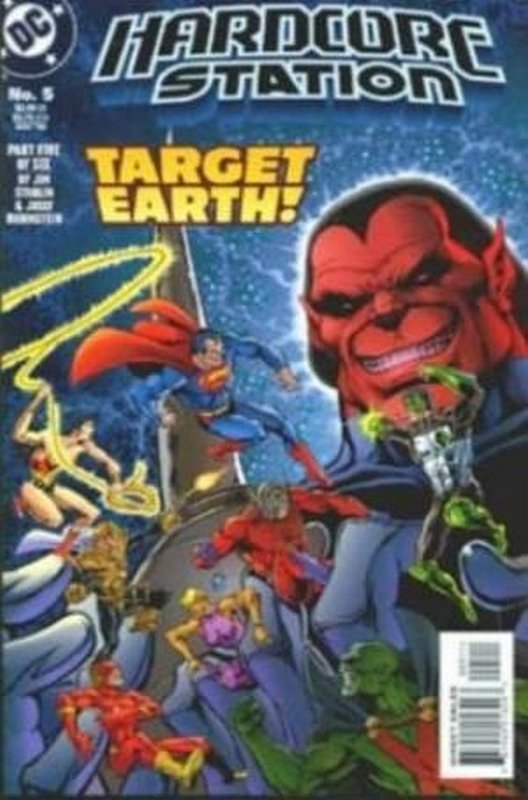 Cover of Hardcore Station (1996 Ltd) #5. One of 250,000 Vintage American Comics on sale from Krypton!
