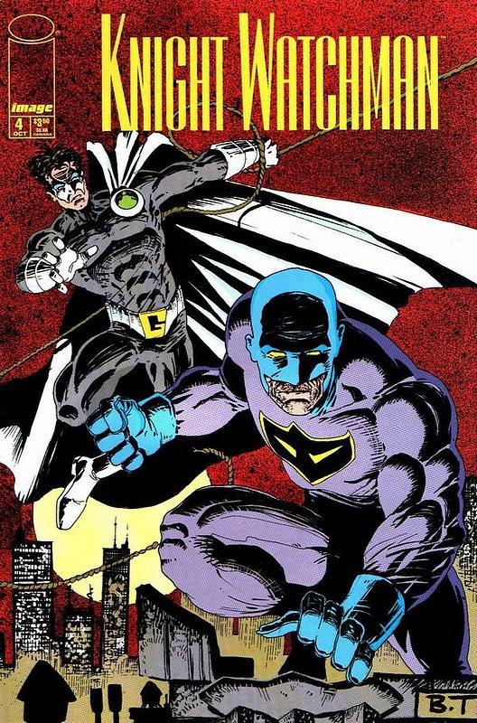 Cover of Knight Watchman (1998 Ltd) #4. One of 250,000 Vintage American Comics on sale from Krypton!
